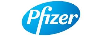 Logo couleur de Pfizer