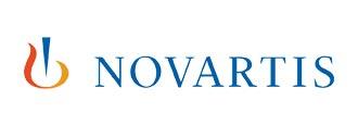 Logo couleur de Novartis